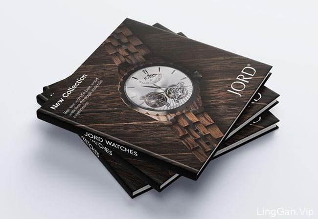 JORD腕表品牌目录画册设计