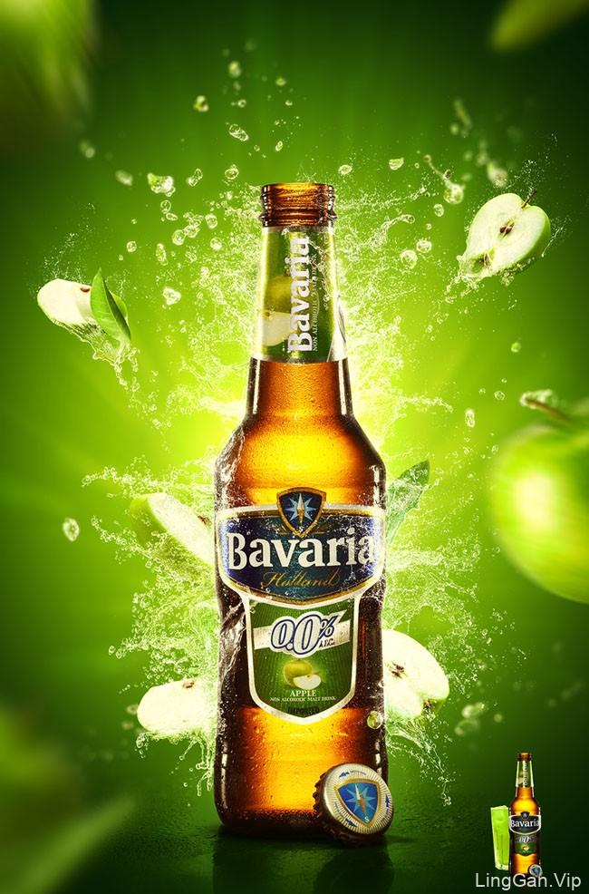 Bavaria果味啤酒系列视觉海报设计