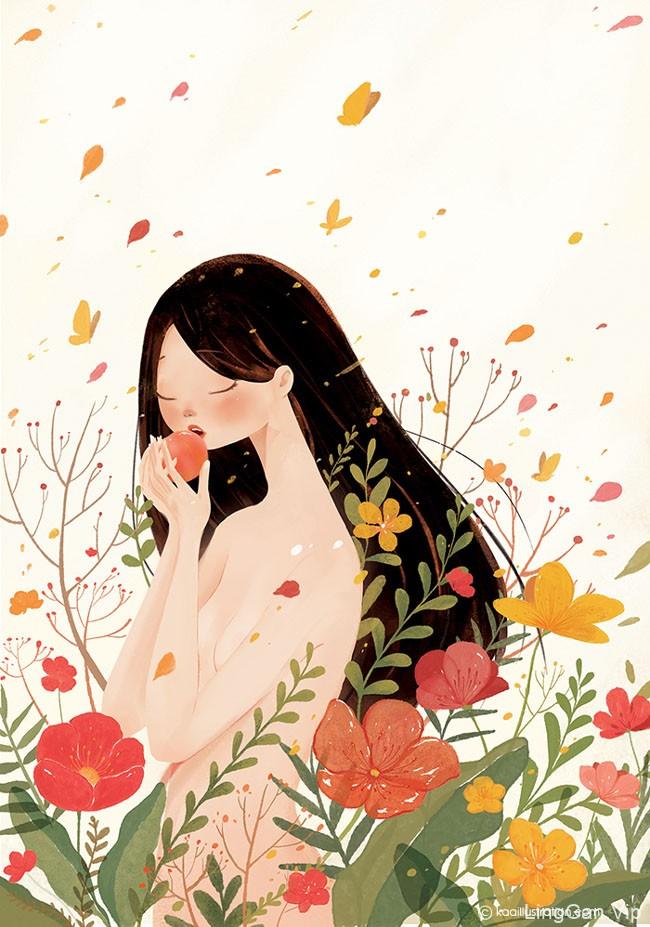 漂亮的5 MUA ARTBOOK书籍插画设计