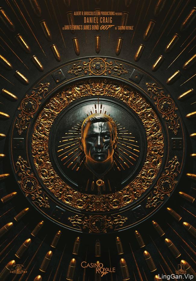 英国Luke James电影《007:大战皇家赌场》数码海报