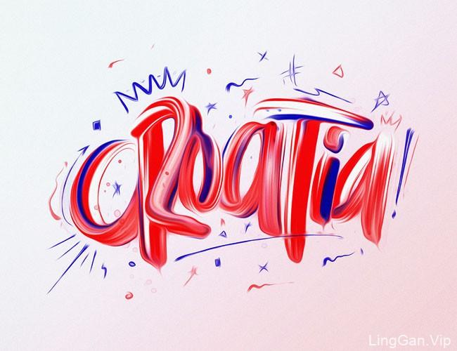 西班牙David Milan英文字体设计作品NO.3