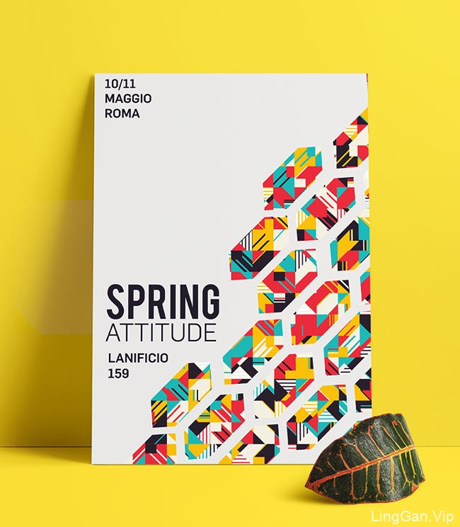 意大利Iulia Bita几何图形海报设计