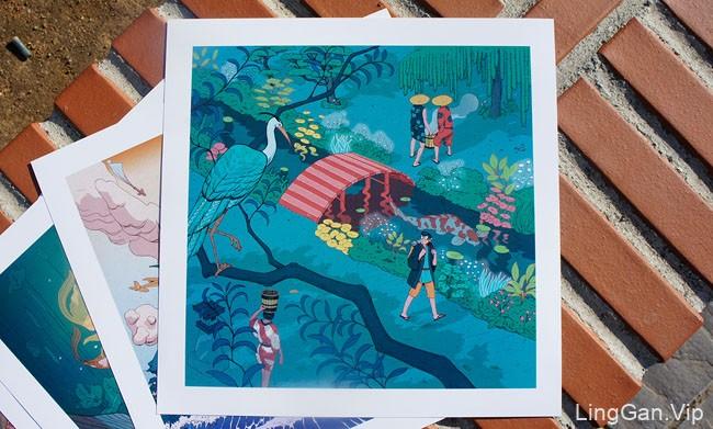西班牙Nicolas Castell精彩人物场景插画设计