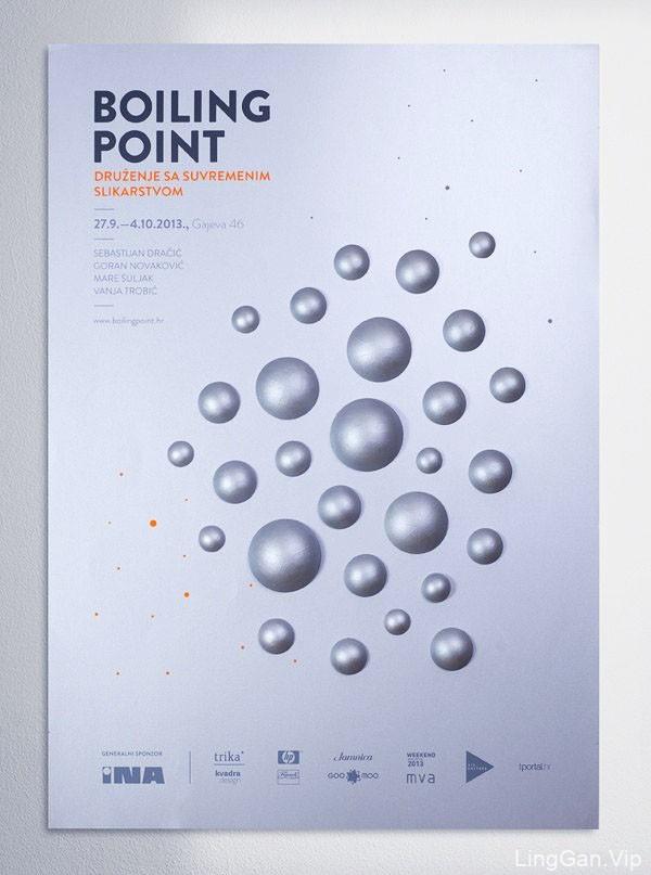 Boiling Point系列立体手工海报设计欣赏