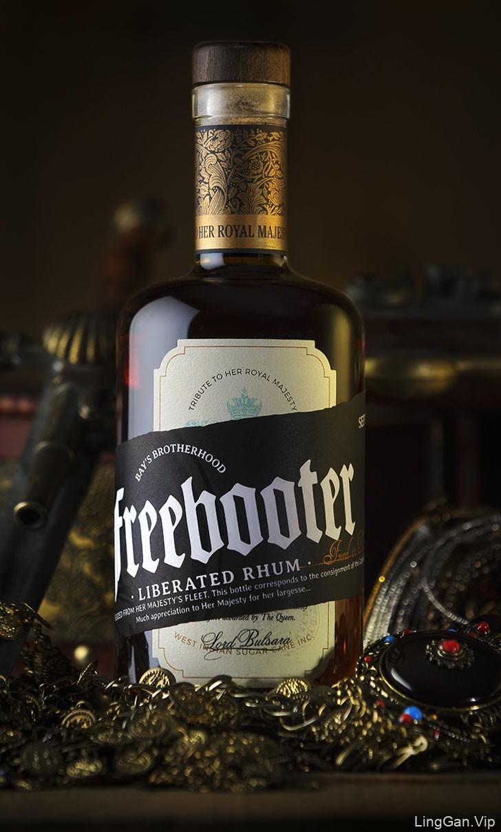 Freebooter朗姆酒包装设计