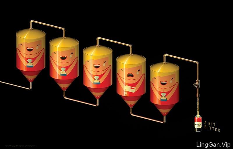 忍俊不禁!12款酒类产品商业海报