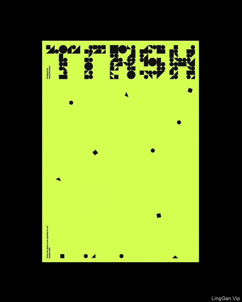 Harry Richards字体海报设计