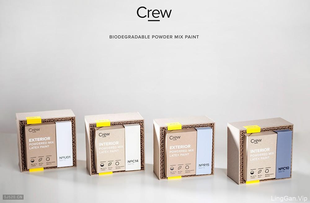 Crew图形包装设计欣赏