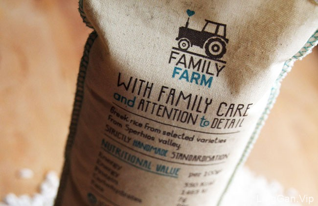 希腊Family Farm农产品外包装设计