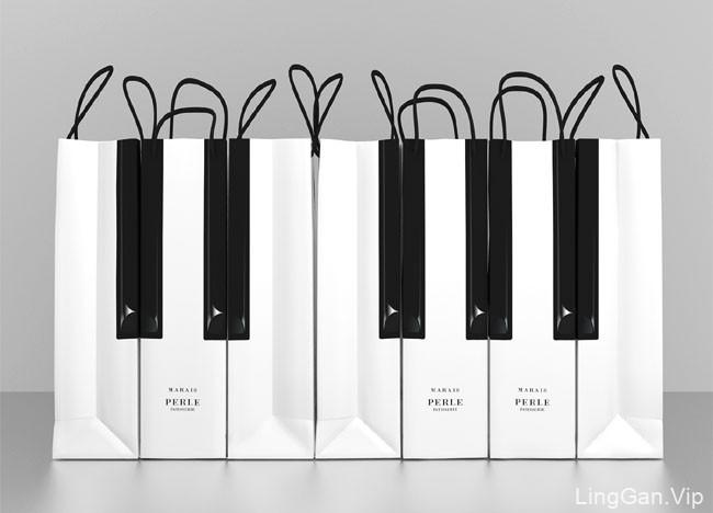 PERLE蛋糕钢琴国外创意包装设计鉴赏