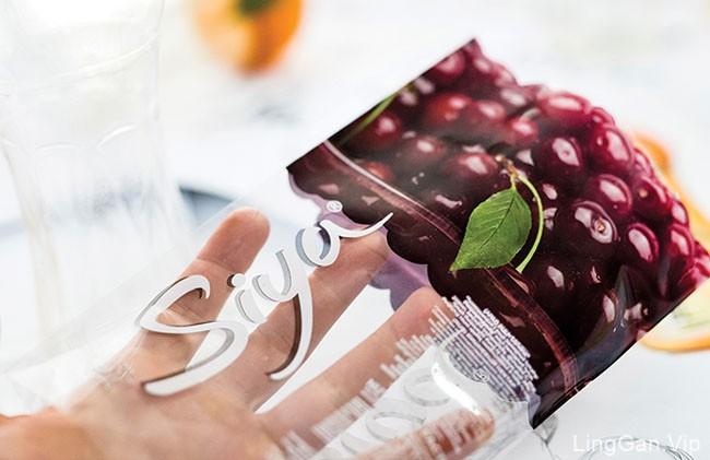 国外Siya果汁系列创意包装设计(二)