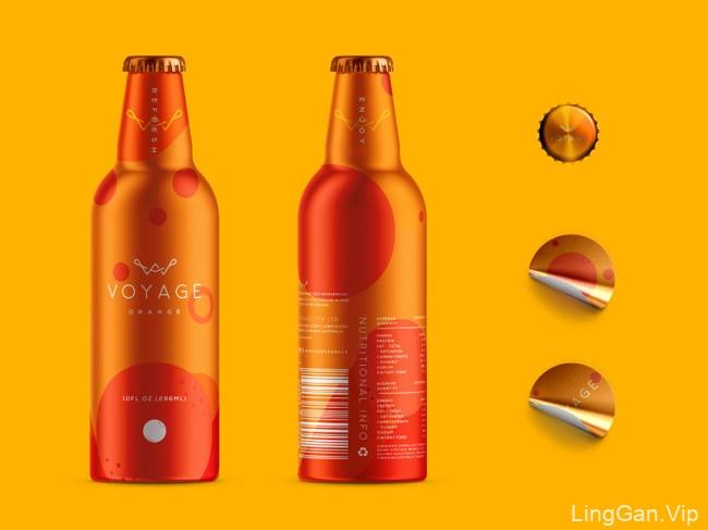 国外魅力十足的Voyage果汁包装欣赏