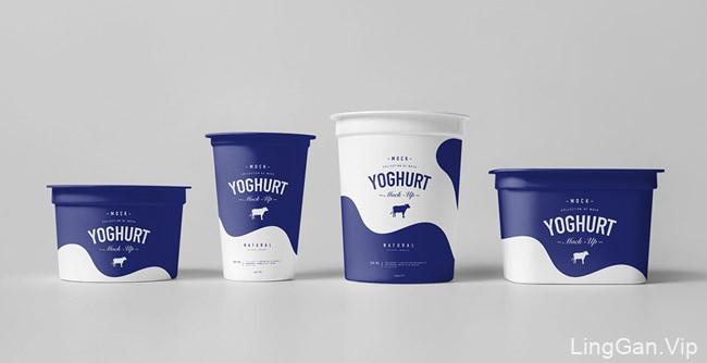 英国yogurt86设计工作室酸奶包装模版设计分享