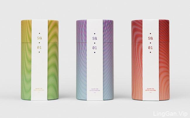 国外精美的Square咖啡系列包装设计欣赏