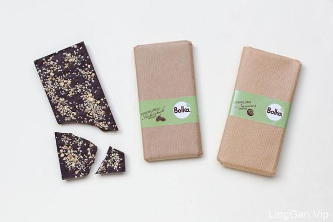 小清新版的Bolka马卡龙包装设计