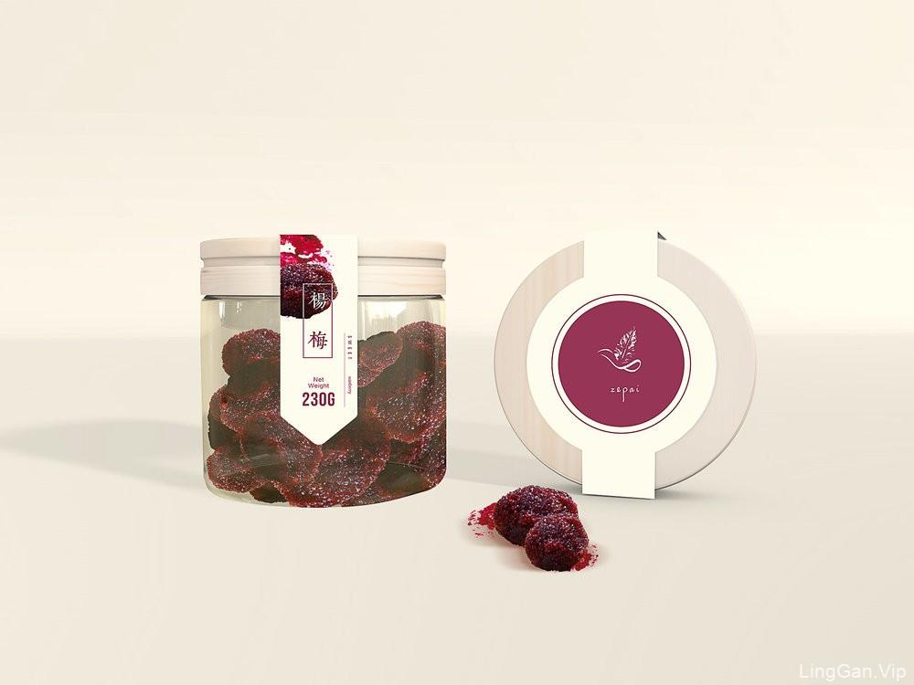 蜜饯食品包装设计