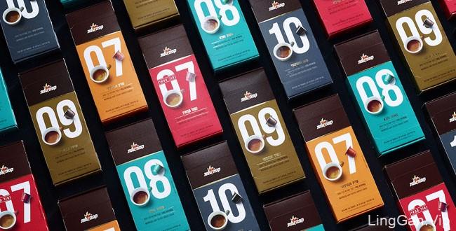 国外精美的ELITE咖啡外包装设计欣赏