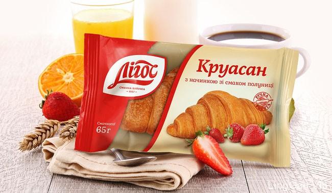 国外Ligos牛角面包多种颜色风格全新包装设计