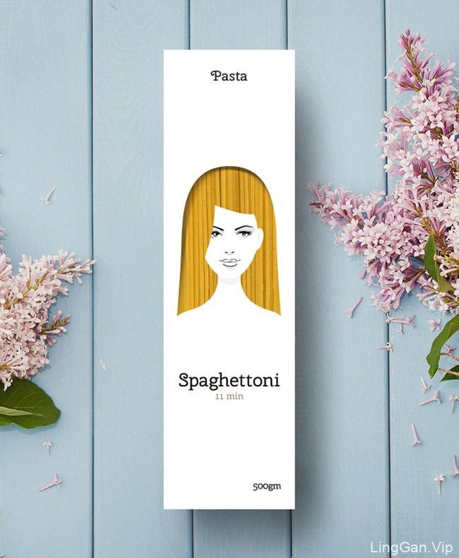 国外Pasta意大利面食创意外包装设计