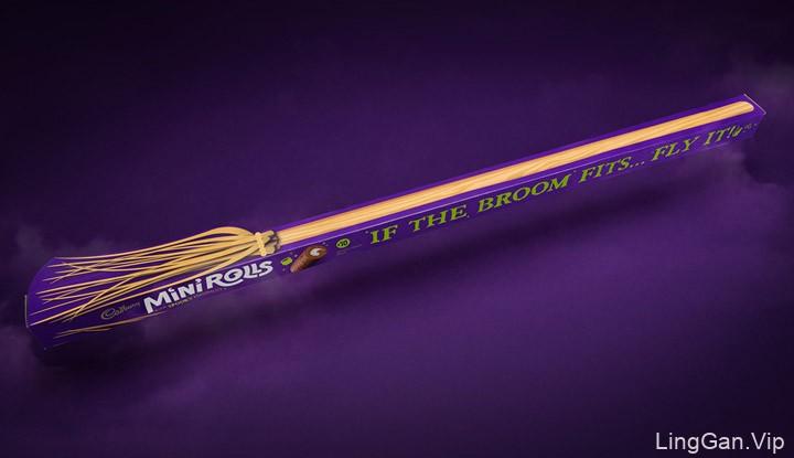 国外Cadbury吉百利英国版万圣节包装设计鉴赏