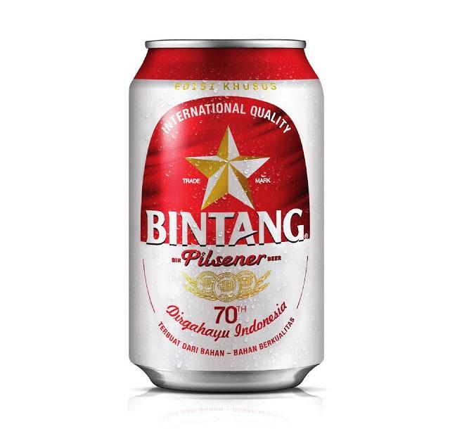 国外Bintang啤酒70周年纪念版外包装设计欣赏