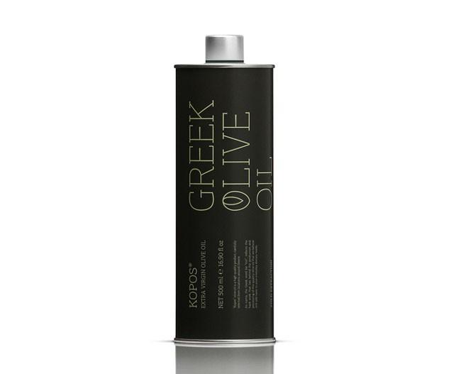 希腊非常高大尚时尚的Kopos橄榄油外包装设计鉴赏