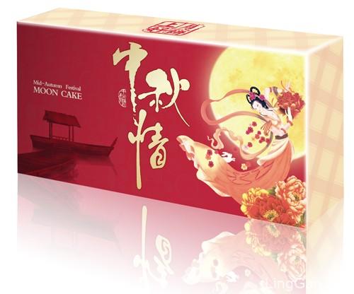 中秋情中秋月饼盒外包装设计欣赏