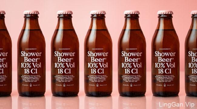 国外包装设计-Shower Beer啤酒包装