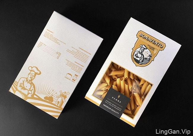 国外包装设计之BONAVENTO意大利面与通心粉包装欣赏