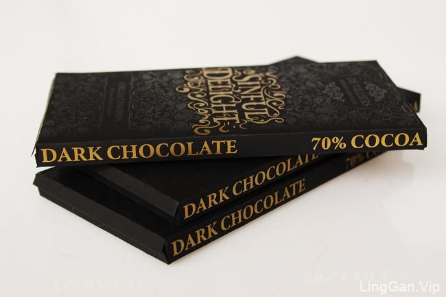国外包装设计DeVilliers巧克力经典包装