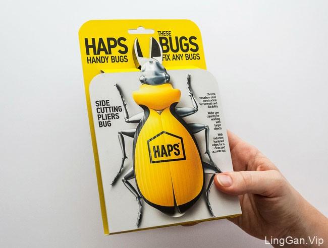 国外包装设计HAPS五金店钳子工具创意包装