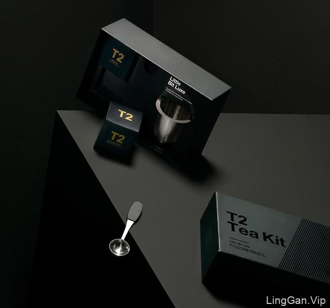 国外精美的T2Tea系列茶包装设计分享