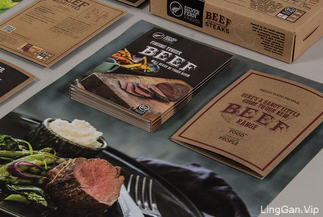 国外食品包装Silver Fern牛肉包装设计欣赏