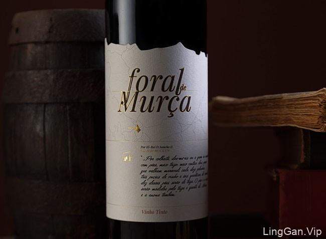 国外包装设计ForaldeMurca葡萄酒标签与包装设计分享