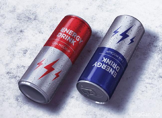 国外包装设计之易拉罐设计模版合集分享