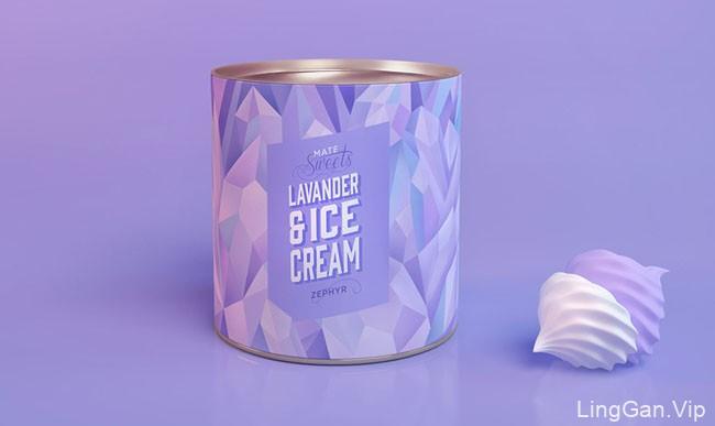 靓丽的MATE SWEETS糖果包装设计