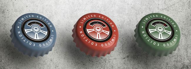 国外Hot Rod Oil啤酒包装设计