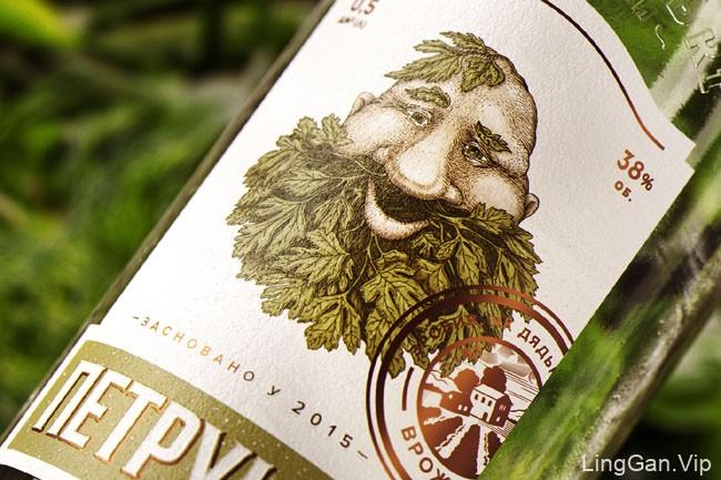国外有趣的Uncle''s Vodka伏特加包装设计
