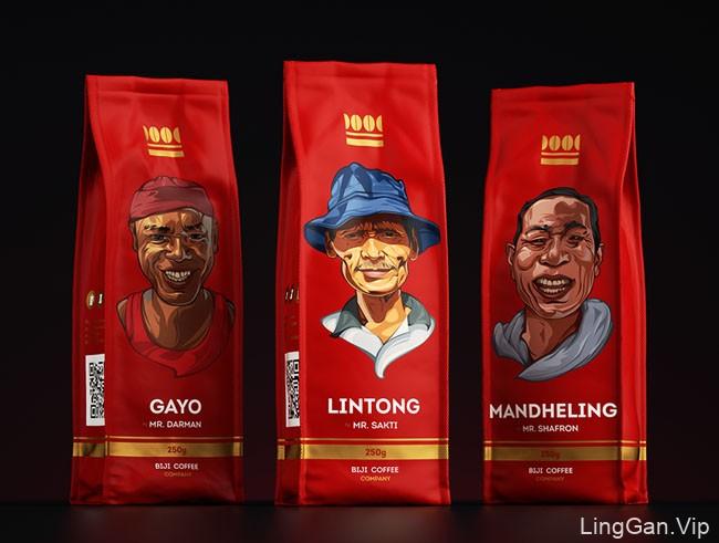 国外Biji Coffee咖啡包装设计