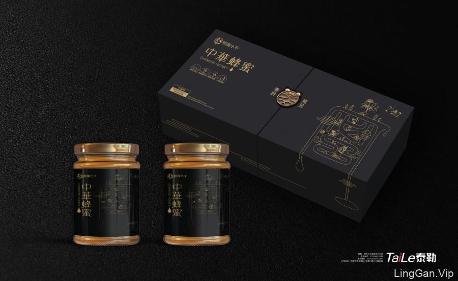 蜂蜜包装设计(一)