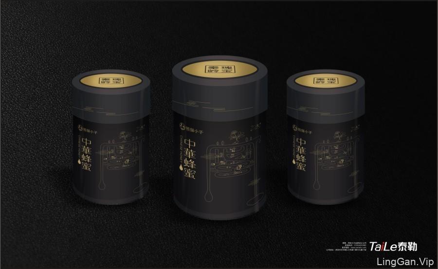 蜂蜜包装设计(二)