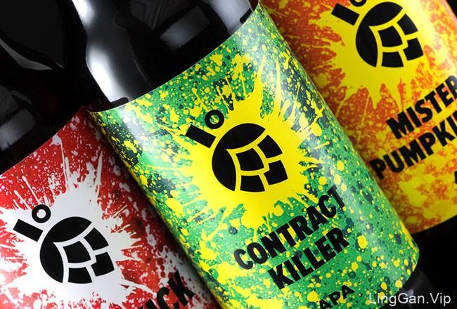 国外时尚多彩的Jungle啤酒包装设计