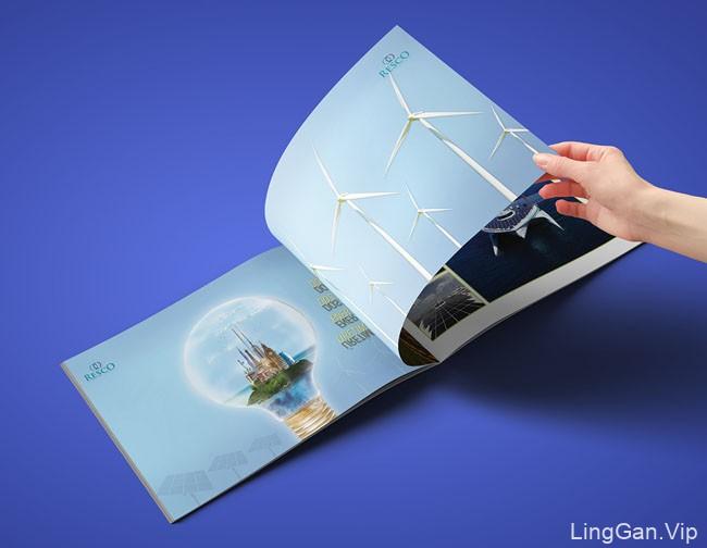 国外Resco自然生态能源企业画册设计