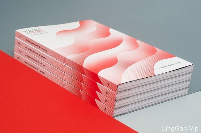 法国洛林国家交响乐团2016-2017赛季宣传画册设计