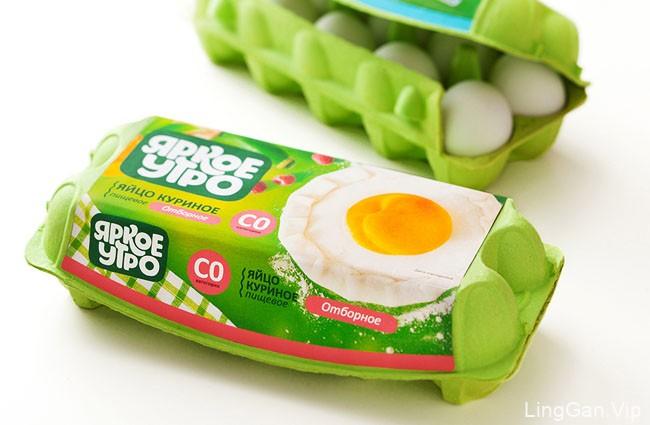 "国外""Bright Morning""主题创意鸡蛋包装设计"