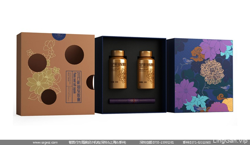 牡丹籽油包装设计 高档食用油包装设计 粮油品牌包装设计公司