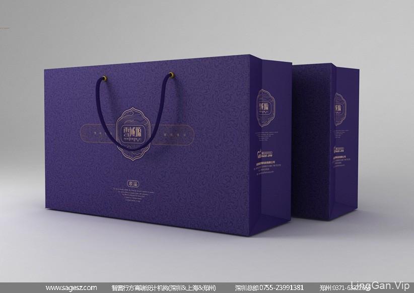 虫草礼盒包装设计 虫草精装皮盒包装设计 冬虫夏草包装设计