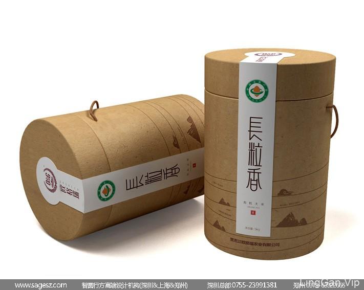 大米品牌包装设计 五常大米包装设计 黑龙江大米包装设计