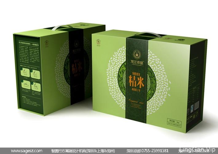 有机大米包装设计 稻花香大米包装设计 原生态大米包装设计