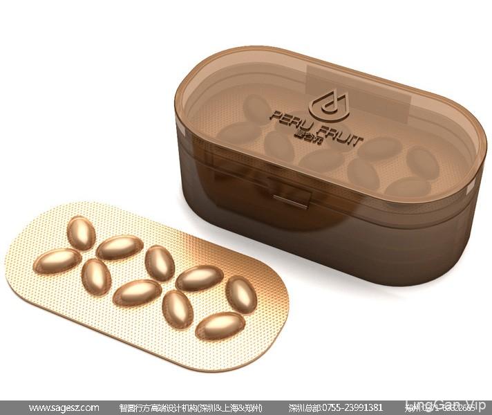 保健品包装设计 玛咖礼盒包装设计 高档皮盒包装设计